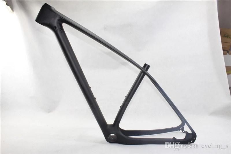 Factory direct genuine carbon fiber mountain bike frame disc brake version carbon fiber mountain bike frame