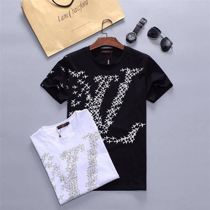 Femmes Hommes 2020 Nouveau mode T-shirt avec la lettre de marque d'impression Fashion Designer Top T-shirts manches courtes Casual T-shirt M-3XL FT67