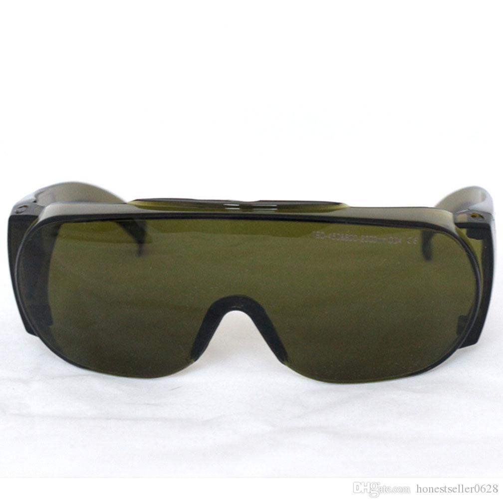 نظارات حماية السلامة ، حملق واقي ليزر ، 200-450nm 800-2000nm OD5 واسعة الطيف الامتصاص المستمر للاستخدام صالون تجميل المشغل