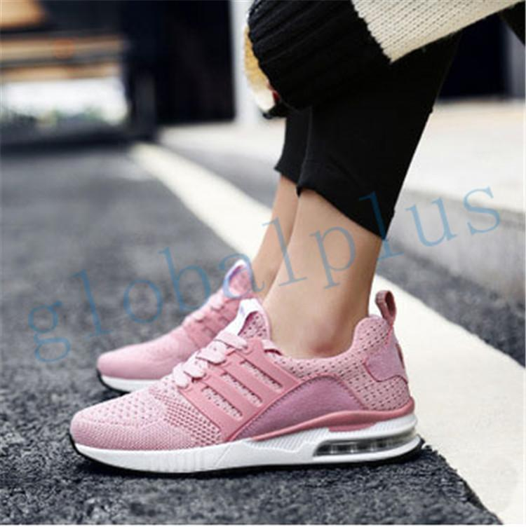Pink lovers air cushion sports running shoes men and women fashion shoes fashion sports shoes free shipping