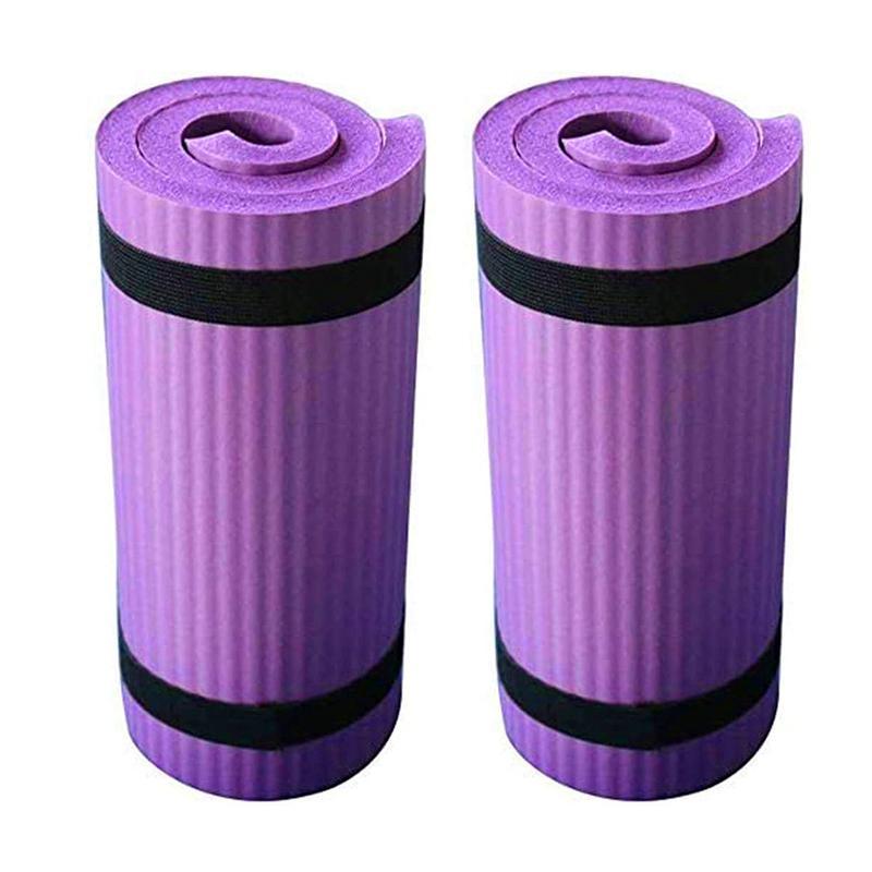 2ST Yoga-Matte Folding Übung Pad Anti-Rutsch Gewicht Wasserdicht