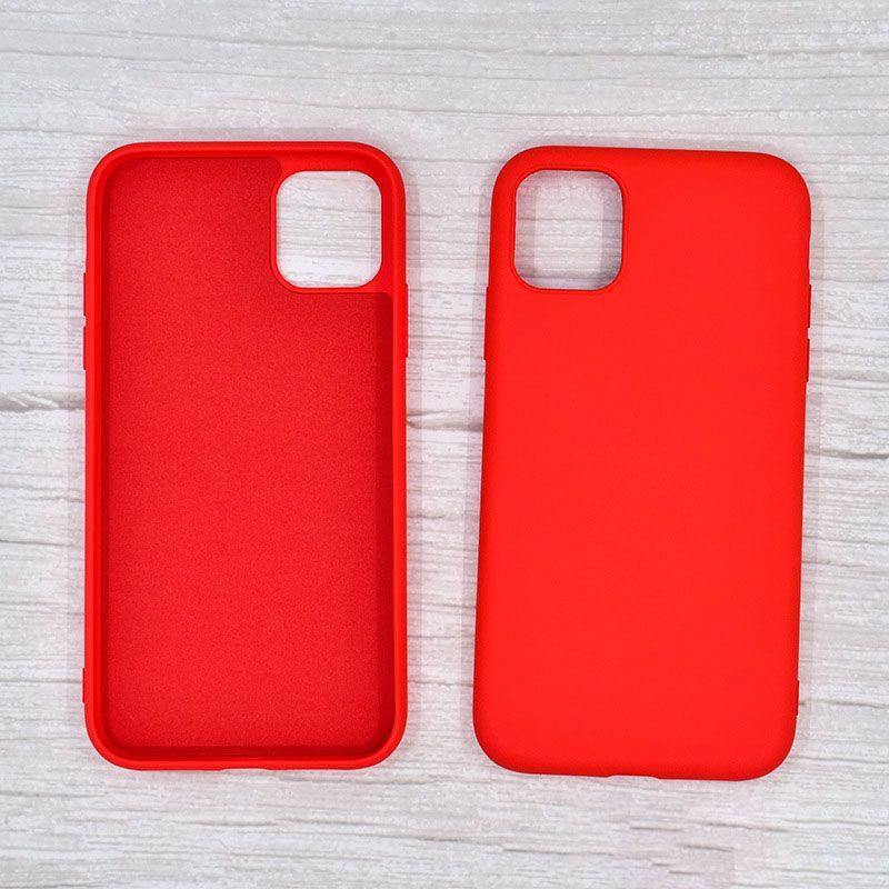 سيليكون سيليكون حالة الهاتف ل iPhone12 11 برو ماكس XS ماكس 7 8 زائد حالة عديم الرائحة وغير سامة بالجملة الساخنة