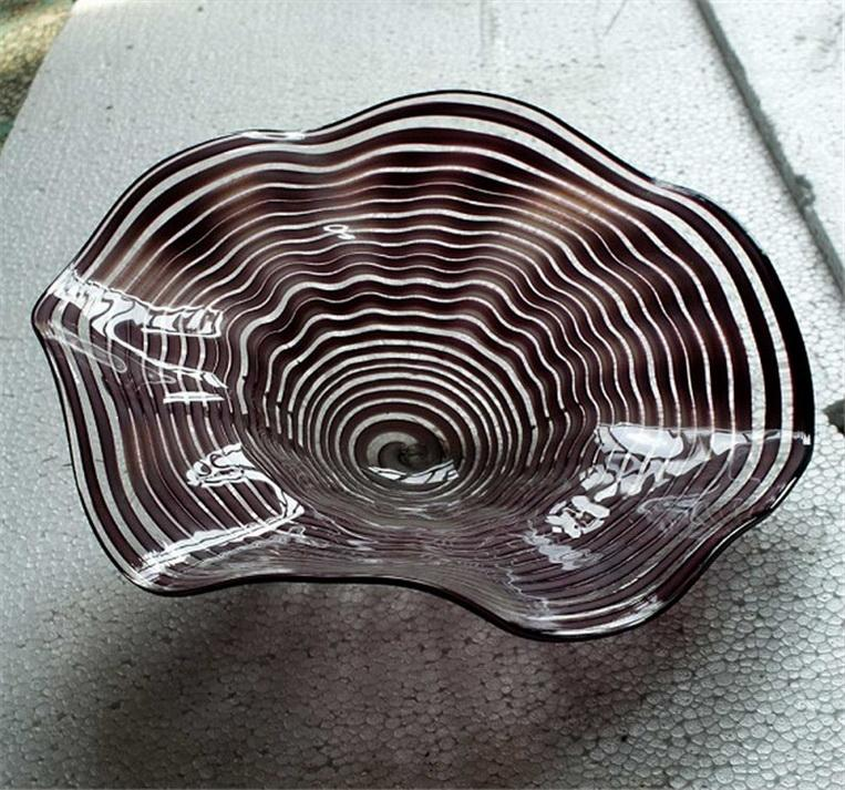 Murano Art Customized Glasplatten für Wanddekoration Modern Art Deco Glas Wandleuchten Entwickelt