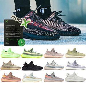 Высокое качество акции х кунжута Зебра Белуга 2.0 Антлиа Yecheil статические светоотражающие черный Мужчины Женщины кроссовки 36-48