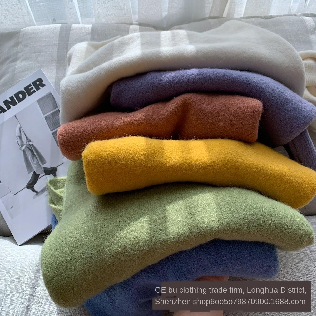 JCK3E Winter Herbst und Wintermantel verdickt koreanischen Stil l Herbst und eQsKw Warm sweaterCoat sweaterthickened Pullover koreanische Artfrauen