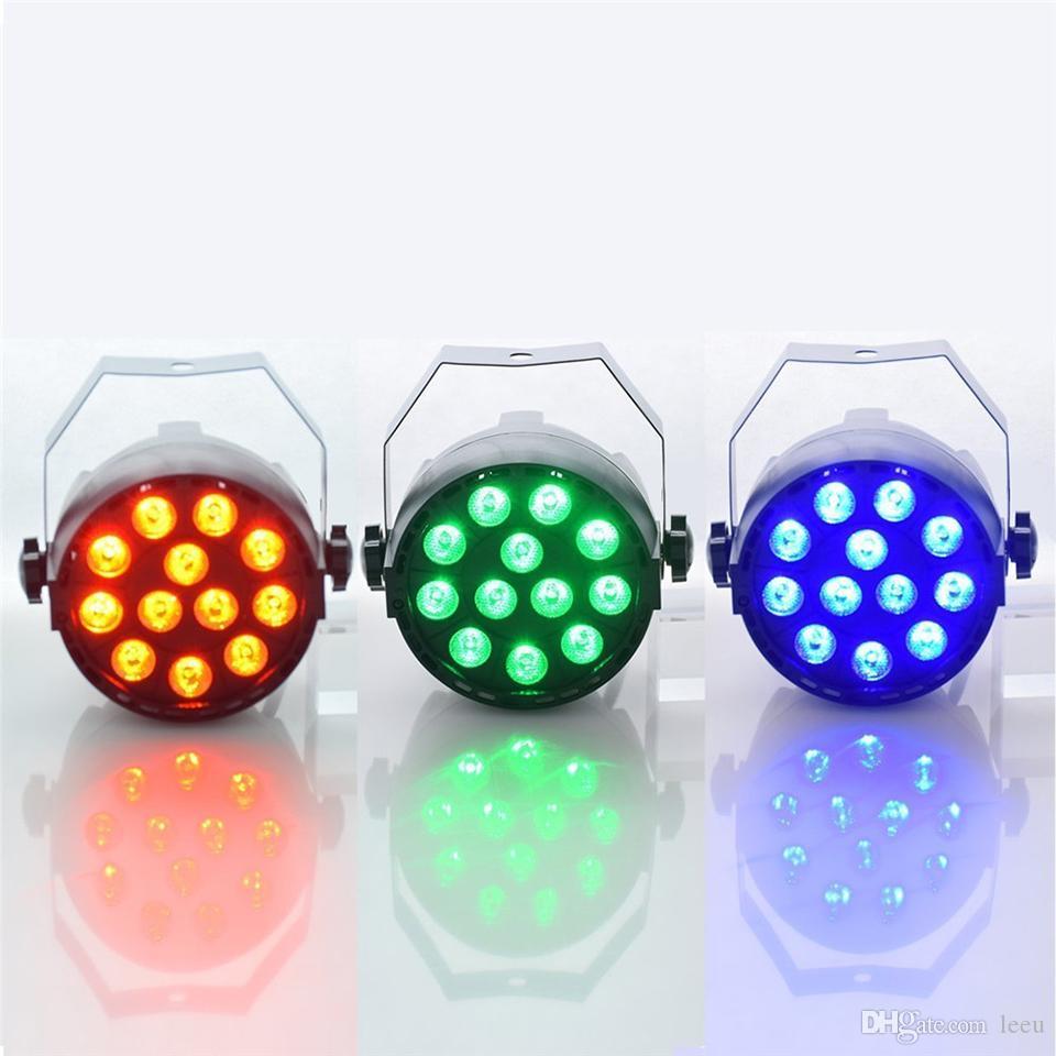 LED الاسمية 18W RGB LED ضوء المرحلة ضوء قدم المساواة مع DMX512 لآلة ديسكو DJ العرض الديكور حزب إضاءة المسرح
