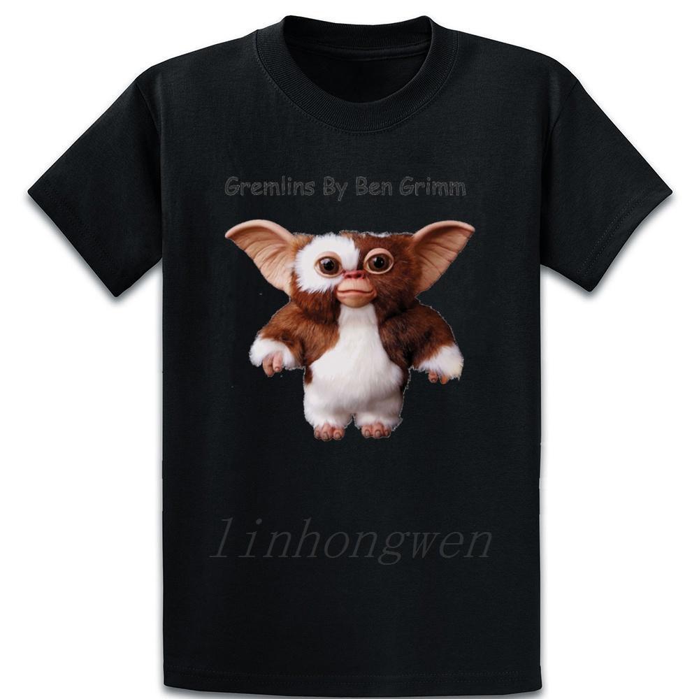 Gizmo T-shirt normal Personnaliser Humour Coton Printemps Automne S-5XL fou loisirs T-shirt