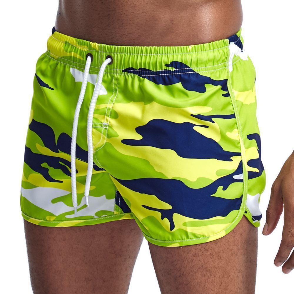 Neue Menskurzschlüsse Tarnung Sportbrettes Strand schließt Männer kurz de bain homme Herren Badeshorts kurz homme de plage Schwimmen