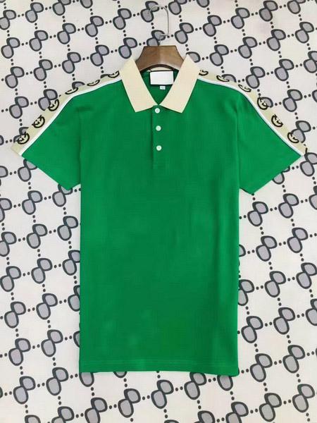 Hot New Mens Designer Polos Mens Polo Mens Marca Camiseta Clássico Bussiness Shirt For Men manga curta Casual Tees Top 2002061L