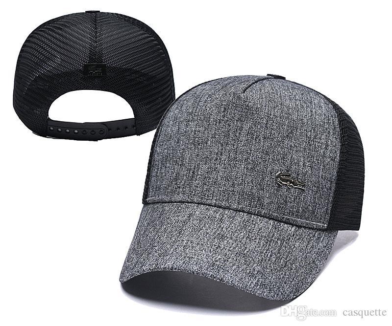 2019 été nouvelle marque mens chapeaux de concepteur de baseball ajustable capslady mode polo hat os femmes gorras ball cap.