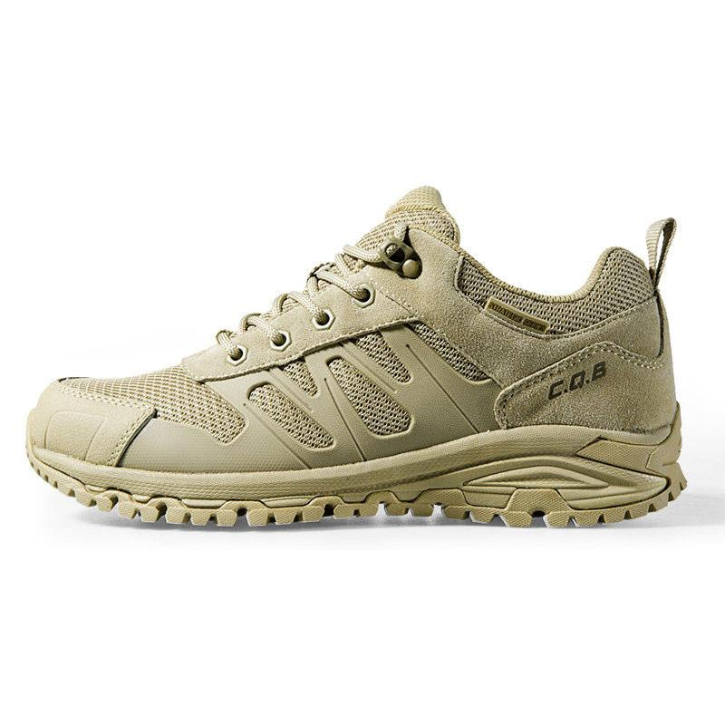 CQB Outdoor Sports Tactical Trekking Men Sneakers Light Shock absorption Non-slip Shoes Military Boots for Camping Hiking