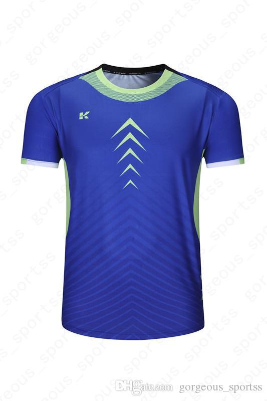 2019 Hot vendas Top qualidade de correspondência de cores de secagem rápida impressão não desapareceu jerseys654965462019 futebol
