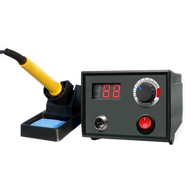 60W Wood Burning Tool Adjustable Pyrography Machine Gourd Crafts Burning Kits