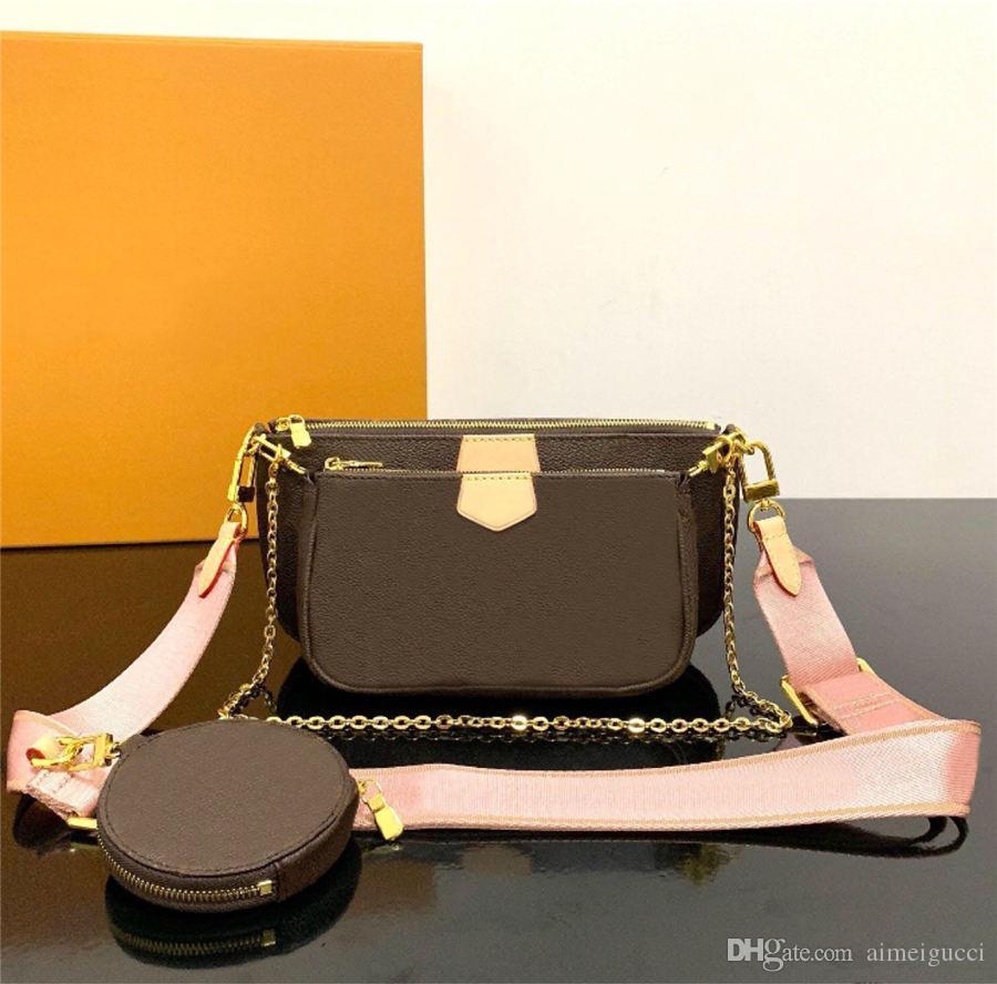 2019 최고의 판매 핸드백 어깨 가방 디자이너 핸드백 패션 가방 핸드백 지갑 휴대 전화 가방 세 조각의 조합 가방