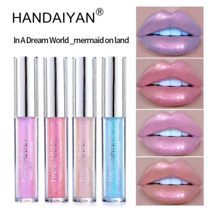 HANDAIYAN жидкий блеск для губ блеск помады оттенок сексуальные помады пигмент мерцание блеск для губ блестящие губы палку макияж косметика 12 шт.