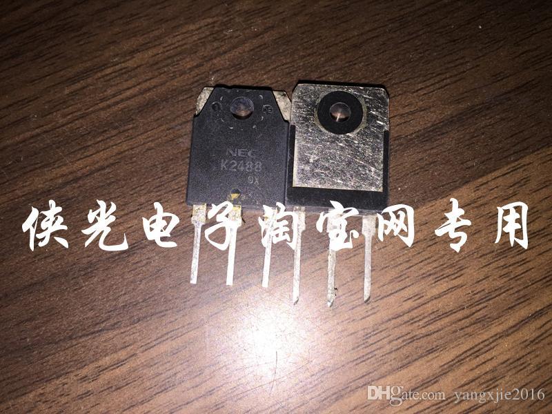 Transistor usado original do campo-efeito 2SK2487 K2487 MOSFET TO-247 TO-3P teste aprovado