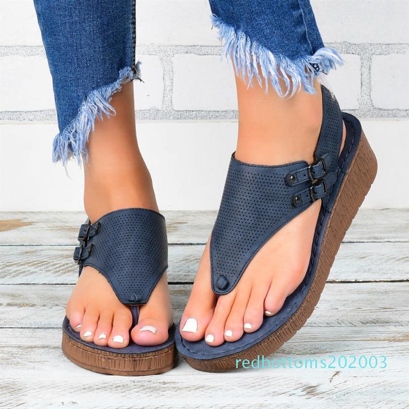 2020 En Satıcı - Kadınlar Sandalet Leopar Desenli Büyük Beden Roma Sandalet Kadınlar Kaymaz Sıcak Satış takozları Yaz Ayakkabı çin, AG4 r03