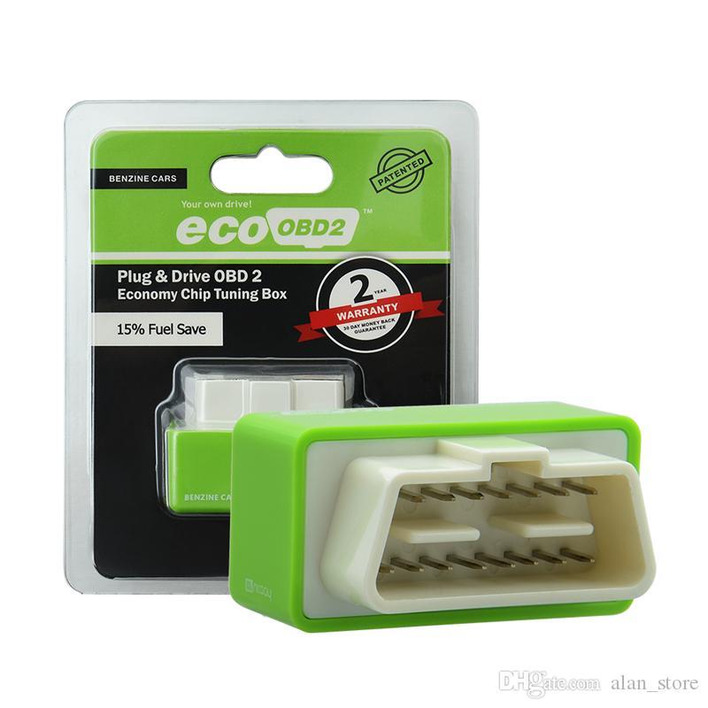 Nitro OBD2 EcoOBD2 Chip Tuning Box ECU Chip para BENZINE Motorista de Carro NitroOBD2 Eco OBD2 Para Carros 15% de Economia de Combustível Mais Poder dropshipping