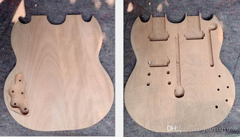 جسم الغيتار الكهربائي ذو الرقبة المزدوجة لطراز 1275