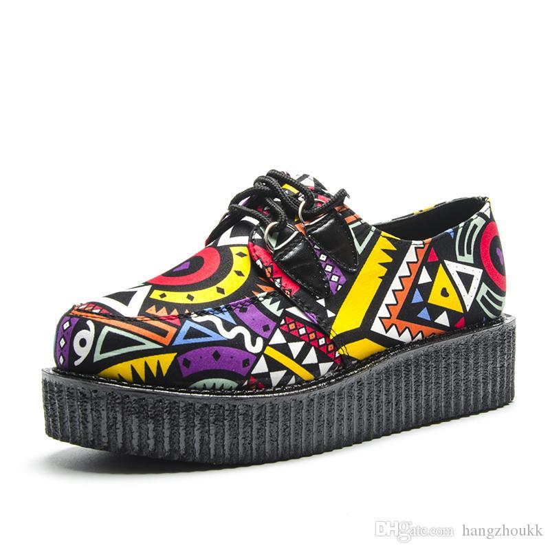 Женщины Замша Повседневная Обувь Женщины Плоские Обувь платформы Круглые Начало Носят Мода Летние Летние Журнатели JJCPB