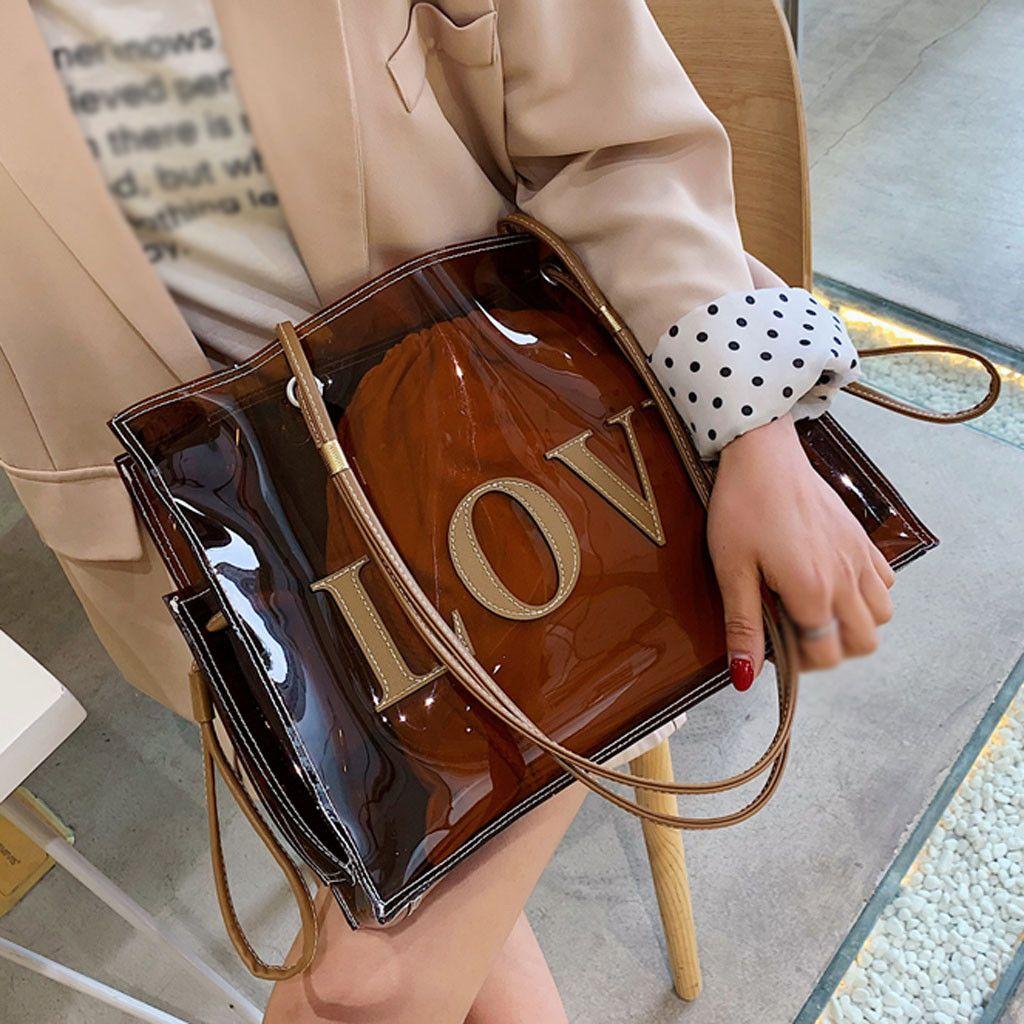 Moda Grande-Capacidade Bolsa Bag Trabalho Red Brown ombro de Ladybabag Mulheres Bag selvagem Dropshipping torebka damska