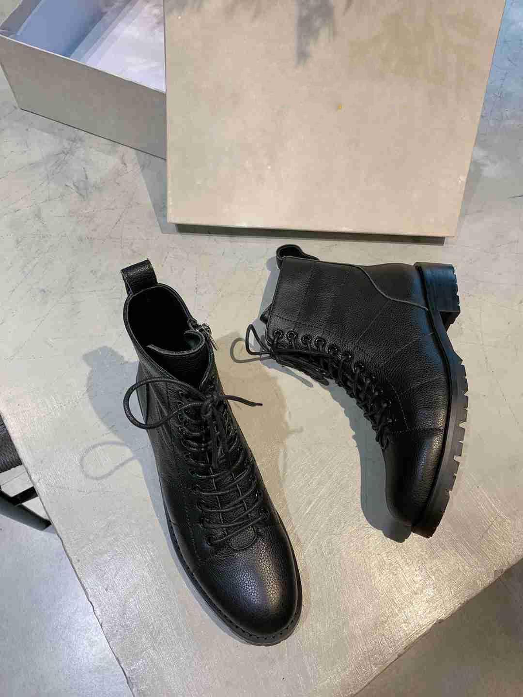 Mens Ankle Boots Shoes Diamond Black Casual Shoes Winter FUR Int