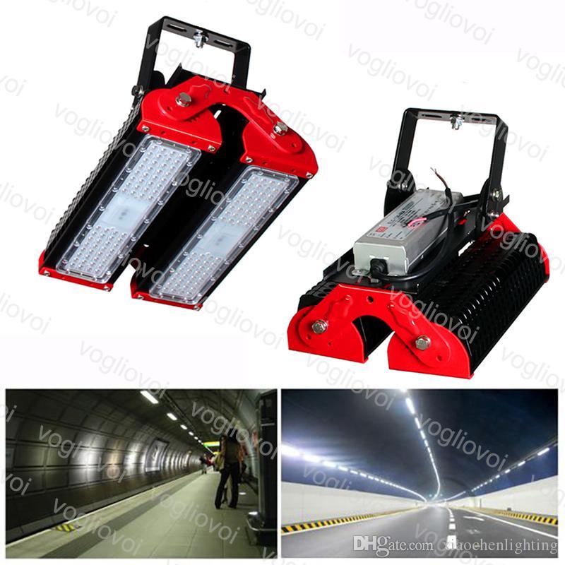 Túnel Luzes 100 W SMD3030 Módulo de Holofllight Ajustável Angle Bon Dissipação de Calor Dissipação Impermeável IP65 Cool Branco para Projeto Rodoviário