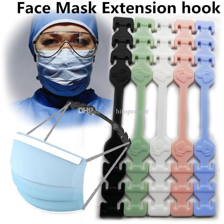 Dritter Gang Einstellbare Anti-Rutsch-Maske Ohr Griffe Aufnahme Haken Gesichtsmasken Buckle Halter Verstellbare Gesichtsmaske Haken Ohr Schnalle
