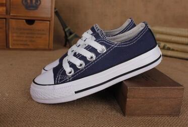 atacado! Crianças sapatos de lona moda alta - baixa sapatilhas meninos meninas esportes sapatos de lona e esportes estrela crianças sapatos