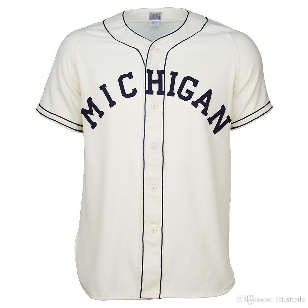 2020 Umich Um Michigan Wolverines University Of Michigan 1961 Home Jersey Double Stiched Baseball Jersey For Men Women Youth Customizable From Jersey Football001 28 58 Dhgate Com