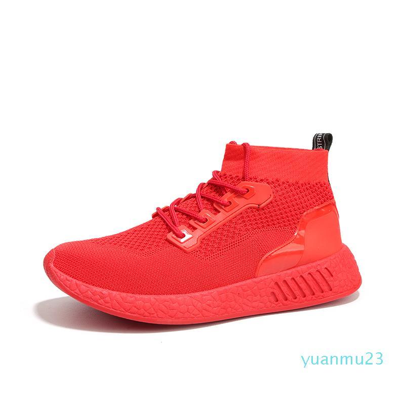 Hot-venda-de tênis sapatos para homens 2019 adulto outono alto parte superior dos Formadores Sneakers Comfort Designers Tenis Masculino Gym Sport Shoes Homens