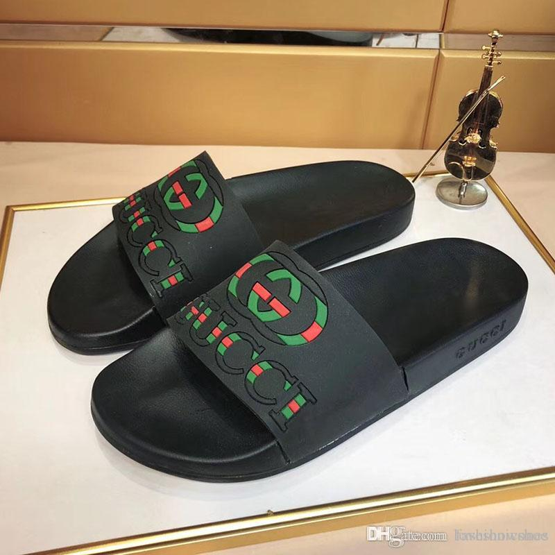 luxo 2.020 Mulheres Chinelos e sandálias Moda Verão de homens da praia chinelos Sapatos de moda com caixa