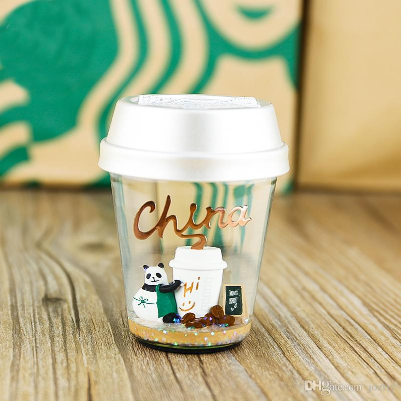 Starbucks Christmas Cups.Starbucks Christmas Cup Chinese Element Sequins Crystal Ball Panda Partner Coffee Cup Scene Settings 301 Ml Included 400 Ml Included Portable Coffee