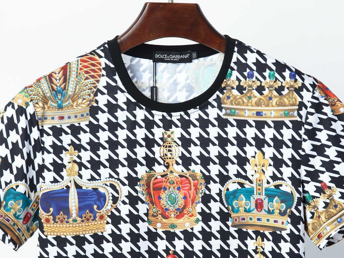 Fhzz alta qualità uomini di disegno T originale e T-shirt maniche e collo rotondo e squisito stampa di personalità Streetwear