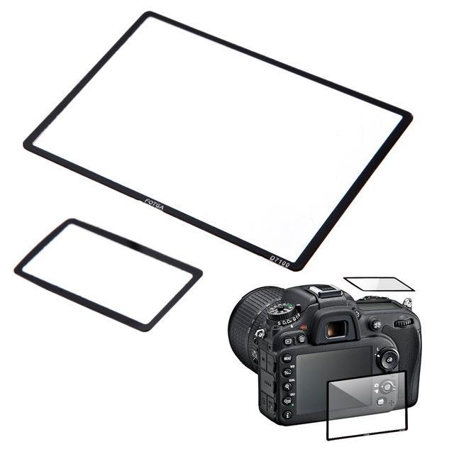 Accessori Parti Screen Protectors vetro ottico LCD fotga professionale Protector per Nikon D7100 DSLR Camera
