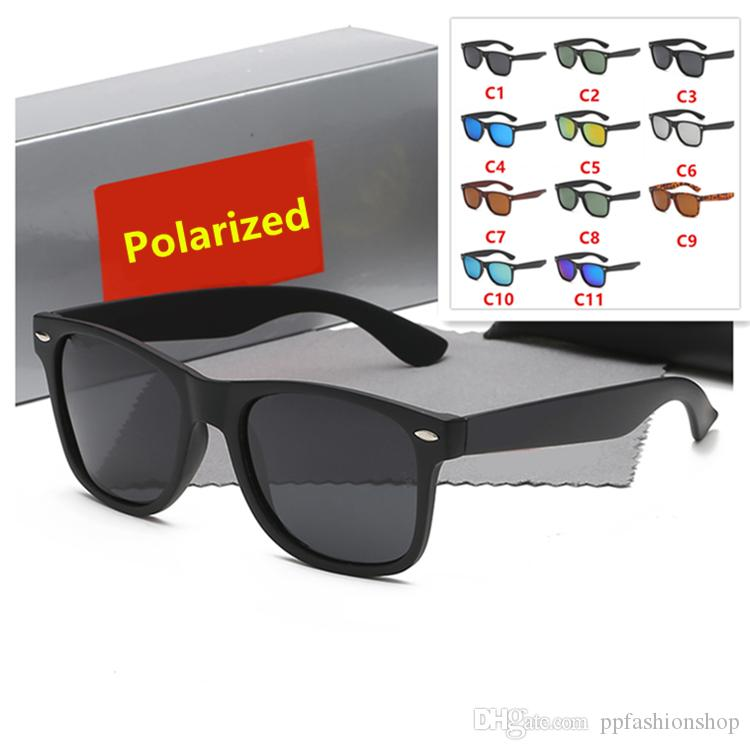 54mm neue ankunft sommer mode klassische retro männer polarisierte sonnenbrille frauen vintage fahrer uv400 sonnenbrille mit original box