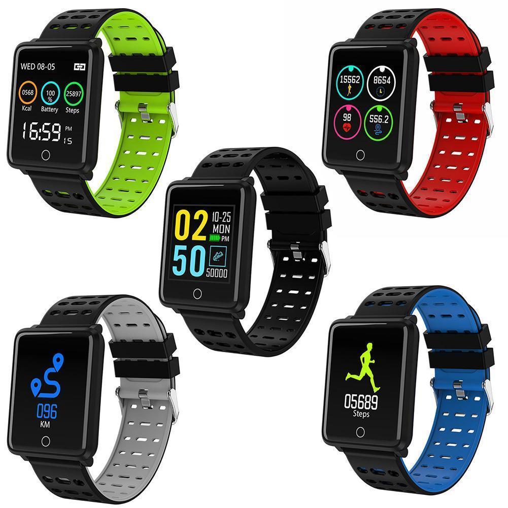 12019 wasserdichtes Herzfrequenz Armband Bluetooth Smart Armband für iOS Android
