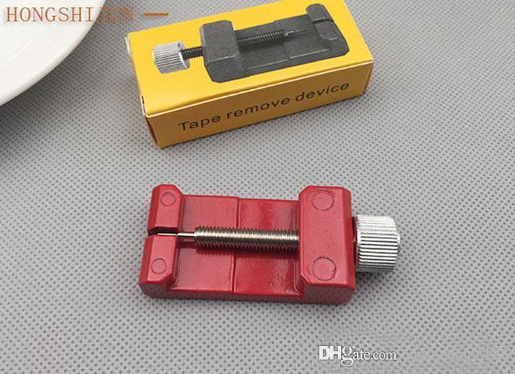 Отрегулируйте длину стального ремешка для часов металла ремешка Снимите ремешок для часов