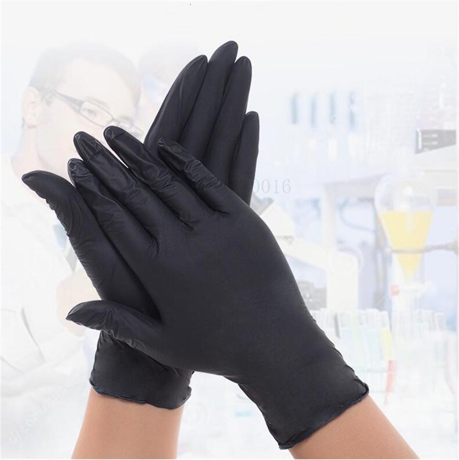 De dos capas de cuero de vaca Trabajo Completo jardín guantes de seguridad al aire libre no desechable elástico de muñeca 100 piezas resistentes al desgaste de D2KY