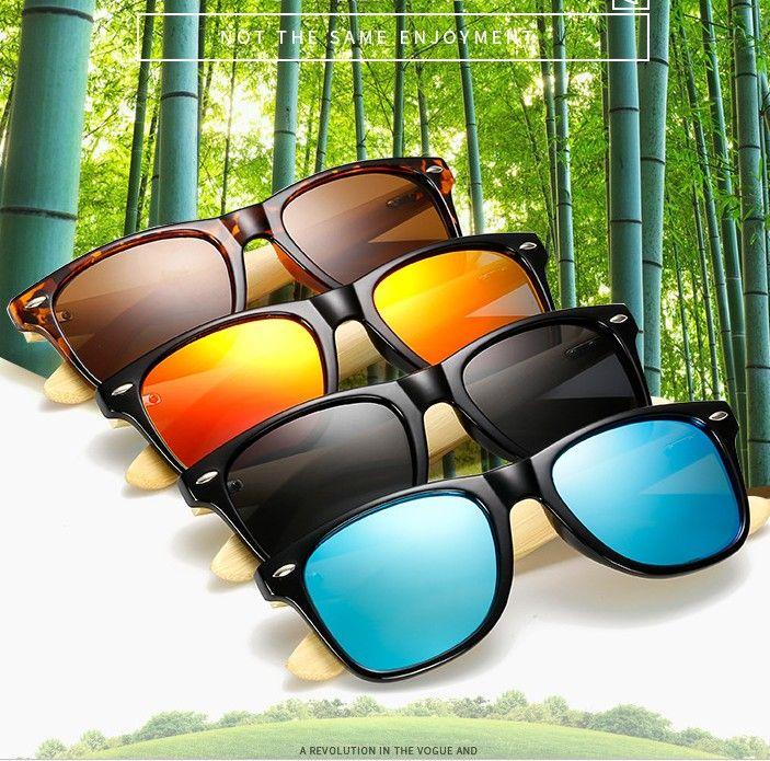 Vintage Holzmaserung Sonnenbrille Männer Frauen Designer Mode Beschichtung Objektiv Platz Sonnenbrille Weibliche UV400 sonnenbrille 10 stücke