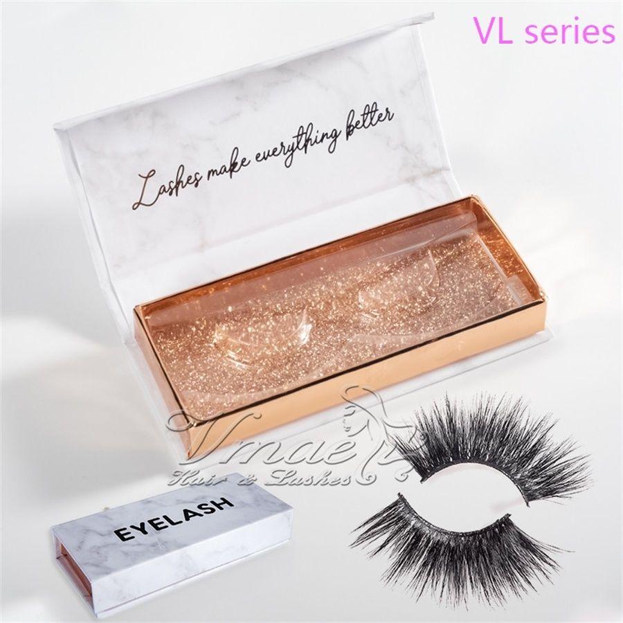 2020 Hot Mink False Eyelashes Makeup 100% Real Mink Natural Thick False Fake Eye Lashes 64 Styles 3D Mink Eyelash Big Volumn