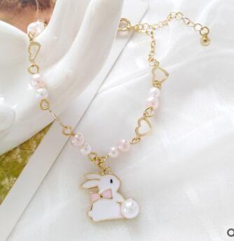 36818 nouvelle Drop Shipping plaqué argent Bracelets 2019 femmes chaîne perles charme pour pandora Bracelet enfants cadeau B001