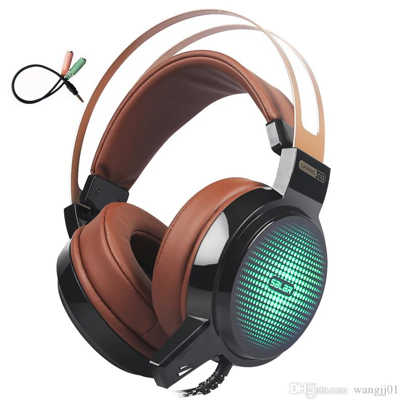 Fones de ouvido estéreo fones de ouvido estéreo com fio de fone de ouvido com microfone para computador para computador fone de ouvido 3.5mm novo