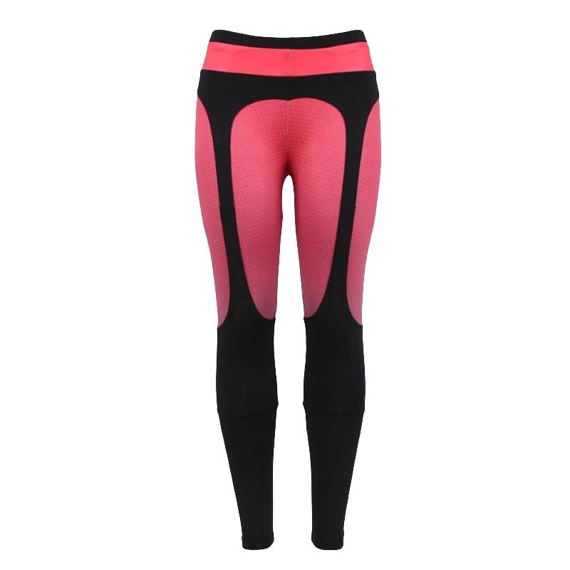 Yoga Pant Women Sport Fitness Tights Patchwork High Waist Elastic Breathable Running Tights Pants