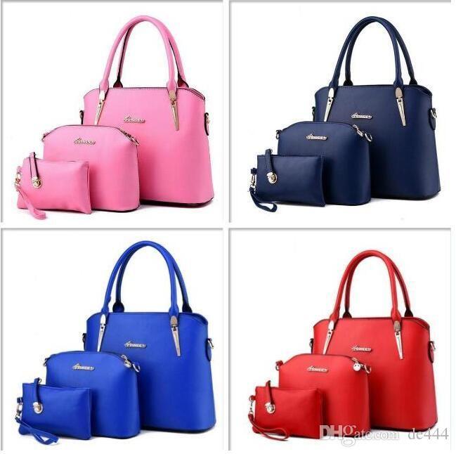Large Capacity Bag Handbags Top Handles 2019 brand fashion designer luxury bags Tote Briefcases Backpack School Clutch handbag Scarlet Gray