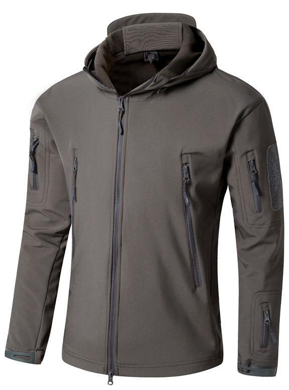 Trasporto di goccia del camuffamento dell'esercito degli uomini del cappotto del rivestimento Tactical Jacket 2020 invernale impermeabile Shell camo giacche Hunt Abbigliamento