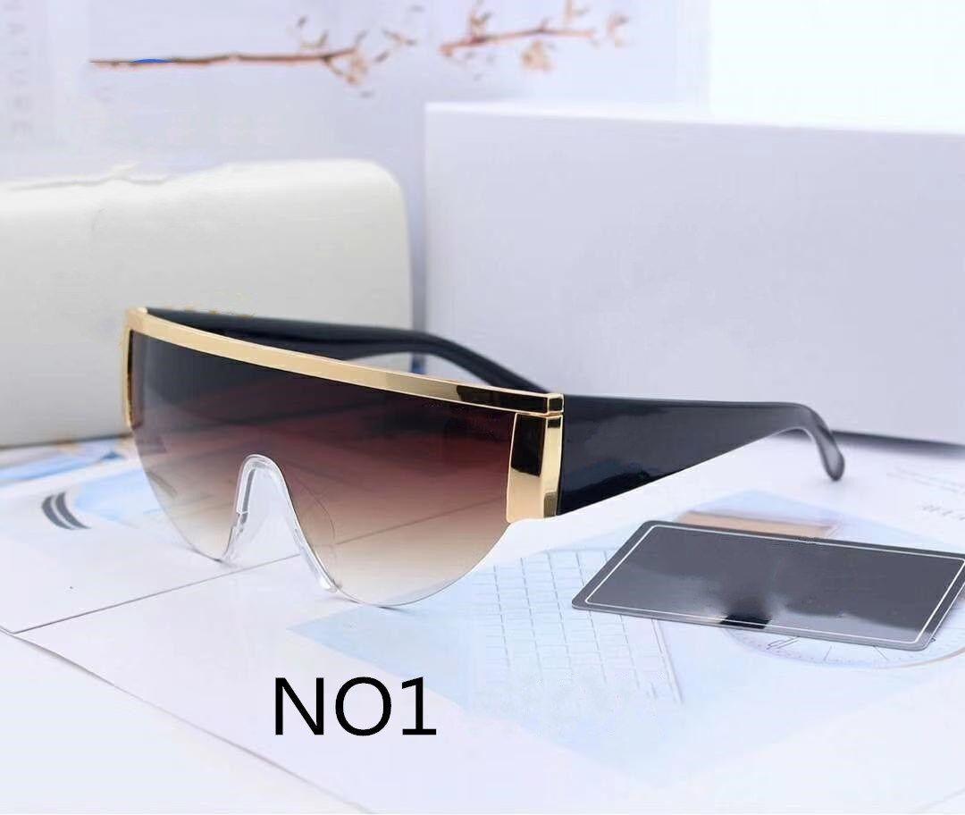 الصيف بيتش رجل امرأة نظارات شمسية النظارات الشمسية للإنسان المرأة uv400 نموذج 0019 6 لون عالية الجودة مع مربع القضية