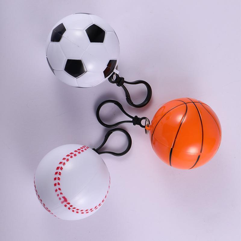 Пластиковый одноразовый плащ мини-стиль спортивные плащи мужчина женщина баскетбол футбол стиль бейсбол утилизировать дождевик новое поступление 3bb L1
