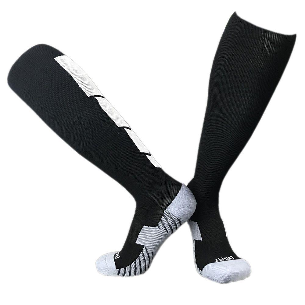 2019 الرجال مكافحة زلة الجوارب ضغط الجوارب الرياضية الجري النساء كرة القدم المشي الدراجات الركبي الكرة الطائرة جولف جوارب طويلة