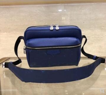 Diseñador-cintura Real Bolsa de Outdoor Bolsa Bolsa Monedero famoso de cuero Mens Handbag Diseñador Diseñador Bolsos Bolsos Bolsos Hombro de cuero M30242 Lawwt